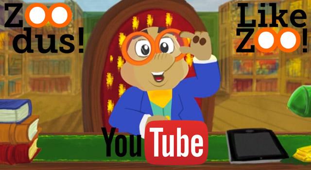 ZOO Dus! YouTube tekenfilmserie