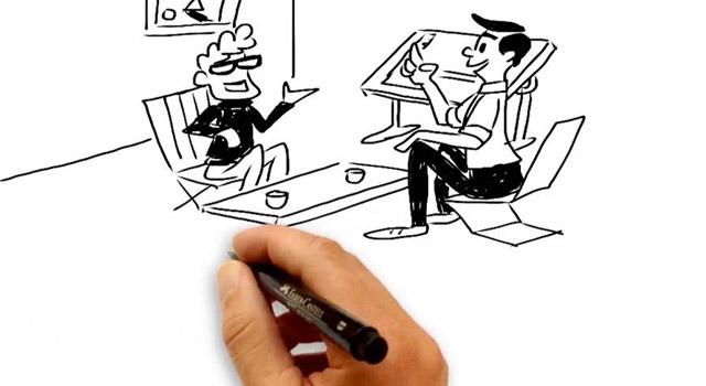 Whiteboard animatie voor Powerpoint