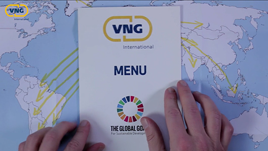 Menukaart VNG International Global Goals