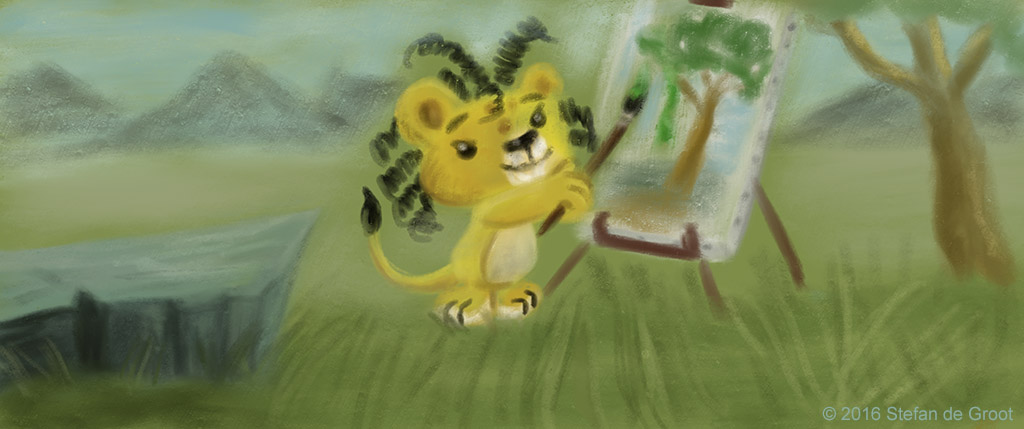 Cubby the Lion