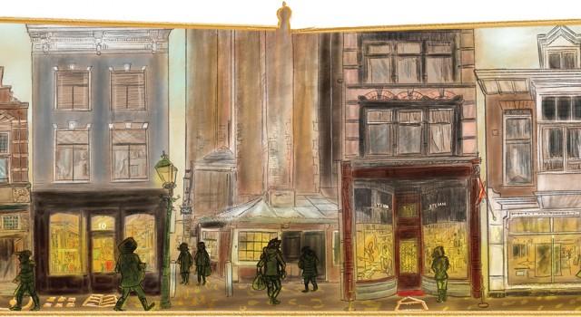 Gouden Straatjes Haarlem voor ANWB