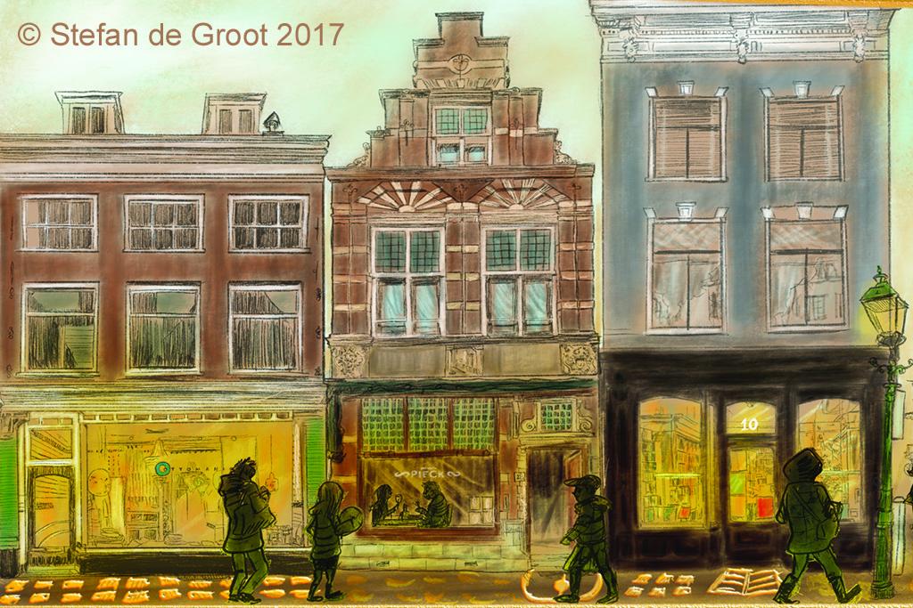 Stefan de Groot illustratie Haarlem Jacobus Pieck
