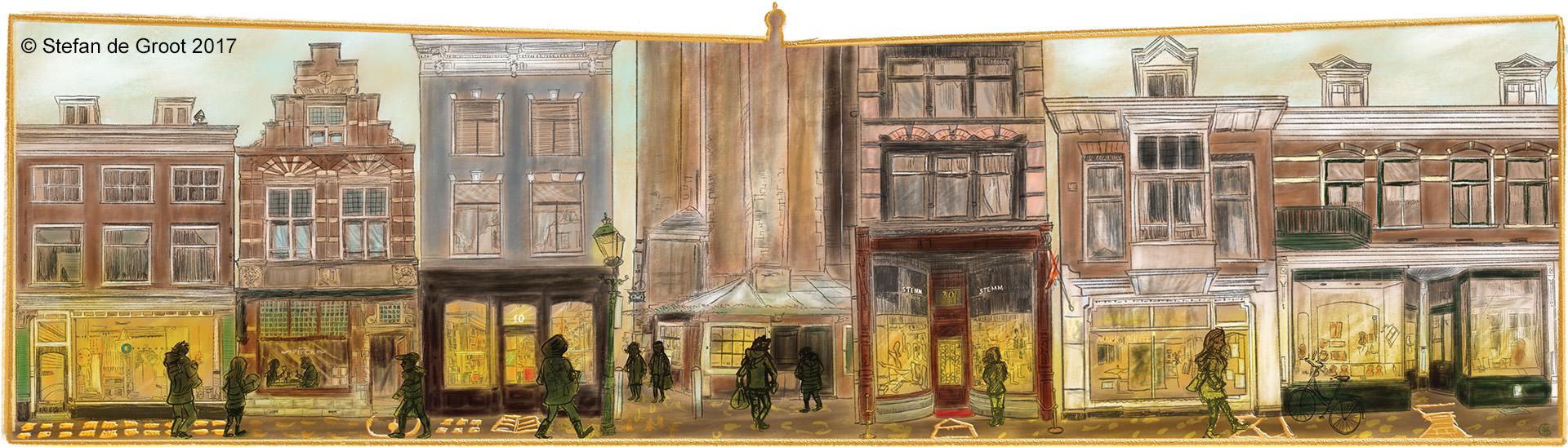 ANWB Gouden Straatjes Haarlem door Stefan de Groot