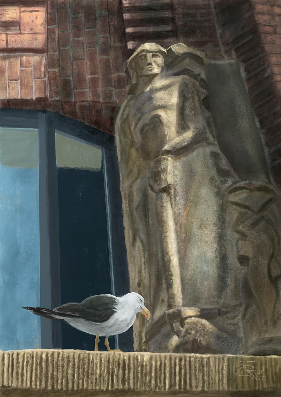 Schilderij Rabobank Haarlem Stefan de Groot
