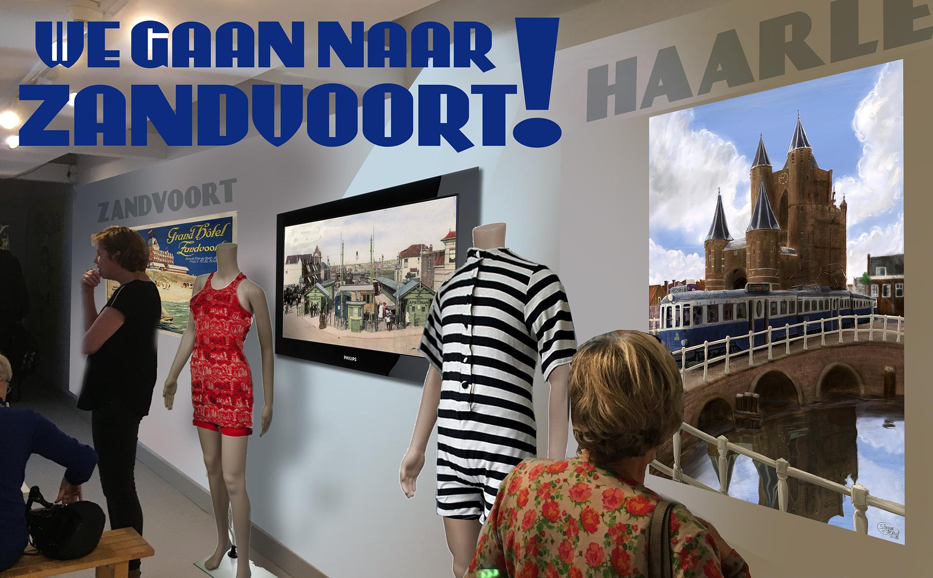We gaan naar Zandvoort expositie Zandvoorts Museum