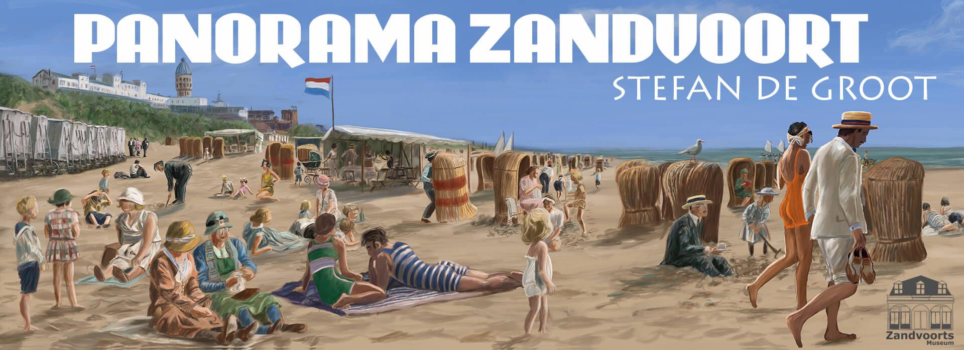 panorama Zandvoort Stefan de Groot