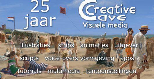 Creative Cave 25 jaar
