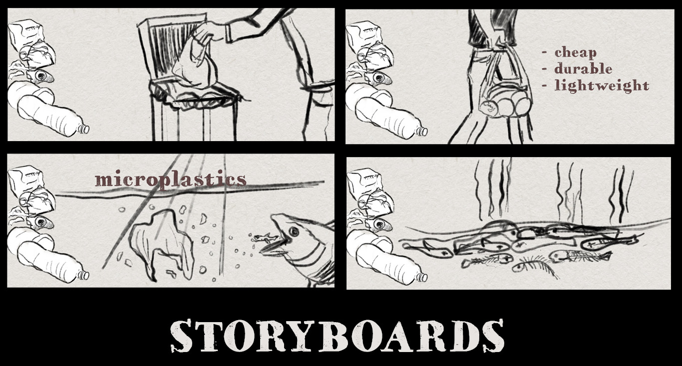 An Ocean Story Storyboard door Stefan de Groot