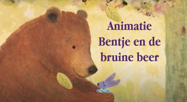 Animatie Bentje en de bruine beer